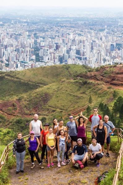 Meditação na Serra do Curral em Belo Horizonte/MG