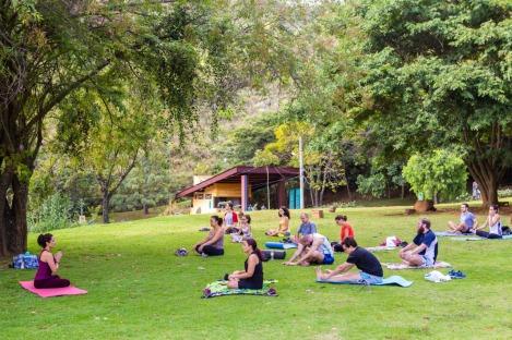 Yoga na Serra do Curral